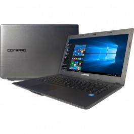 Notebook Compaq Intel Celeron Dual Core 4GB + 500Gb + 14Pol